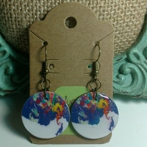 Jewelry - Pipe Dream Graphic Earrings